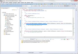 Netweaver Cloudでプログラミングしよう