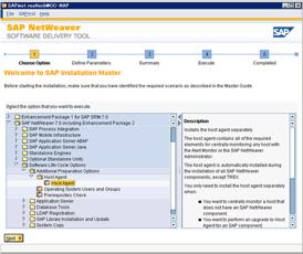 【NW7.0 EhP2】Host Agent の導入方法