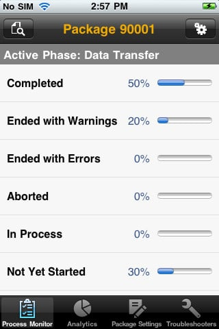 【iPhone アプリ】SAP TDMS Manager