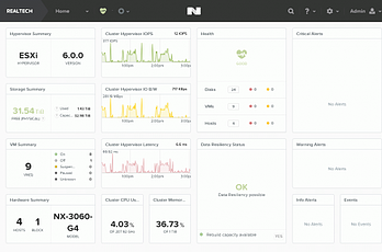 Nutanix Web管理画面(Prism):SAP on Nutanix