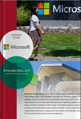 導入事例:マイクロソフト